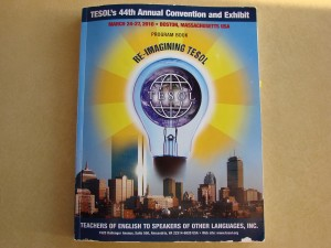 TESOL program book
